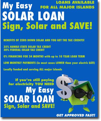 Solar Loans Hawaii