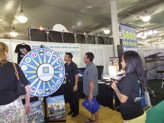 Lots of fun games and items showcased at the Akamai Energy booth