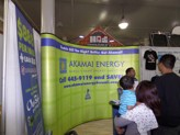 BIA show visitors find out how they can go green with Akamai Energy
